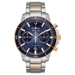 Bulova 98B301 Marine Star Chronograaf herenhorloge 45 mm