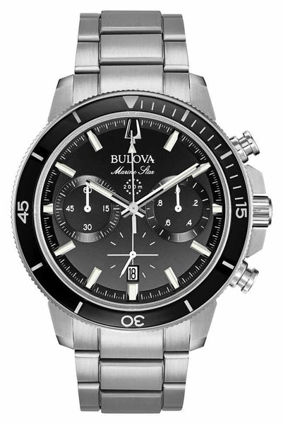 Bulova Bulova 96B272 Marine Star Chronograaf herenhorloge 45 mm