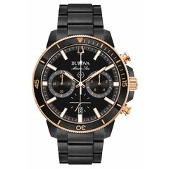 Bulova 98B302 Marine Star Chronograaf herenhorloge 45 mm