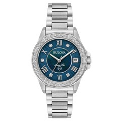 Bulova 96R215 Marine Star Diamond dames horloge 32 mm