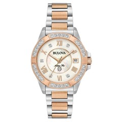 Bulova 98R234 Marine Star Diamond dames horloge 32 mm
