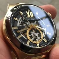 Bulova Bulova 98A178 Classic Automatisch heren horloge 46 mm