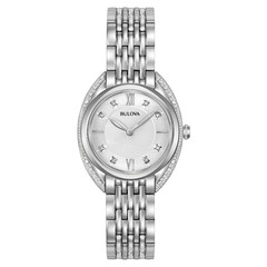 Bulova 96R212 Classic Diamond dames horloge 30 mm