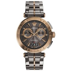 Versace VE1D00619 Aion heren horloge 45 mm