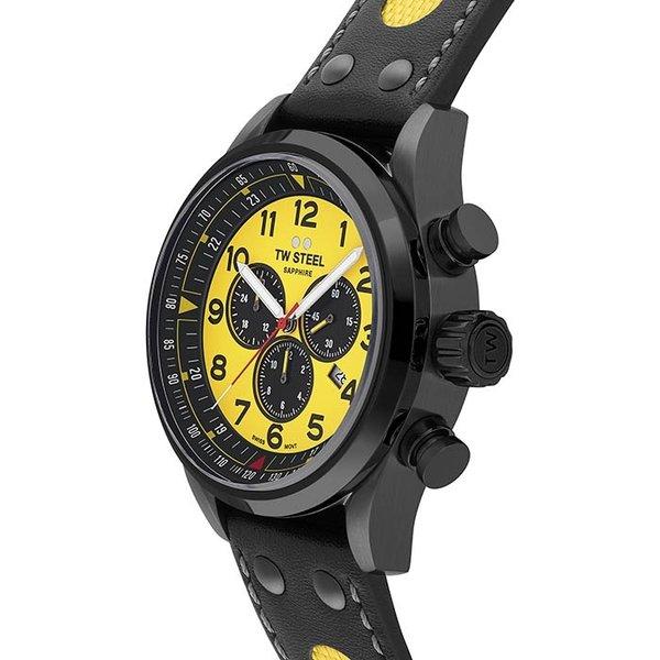 TW Steel TW Steel Swiss Volante SVS302Y WTCR Limited Edition chronograaf horloge 48mm