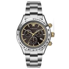Versace VEV700419 Chrono Classic heren horloge chronograaf 44 mm
