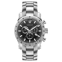 Versace VEV800419 Sporty heren horloge chronograaf 44 mm
