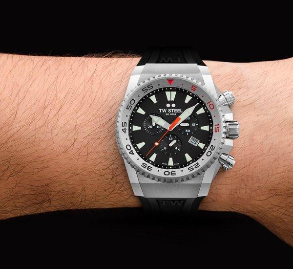 TW Steel TW Steel ACE400 Diver Swiss Chronograaf Limited Edition horloge 44mm