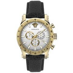 Versace VEV800319 Sporty heren horloge chronograaf 44 mm