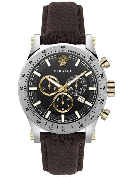 Versace Versace VEV800119 Sporty heren horloge chronograaf 44 mm