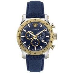 Versace VEV800219 Sporty heren horloge chronograaf 44 mm