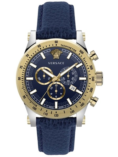 Versace Versace VEV800219 Sporty heren horloge chronograaf 44 mm
