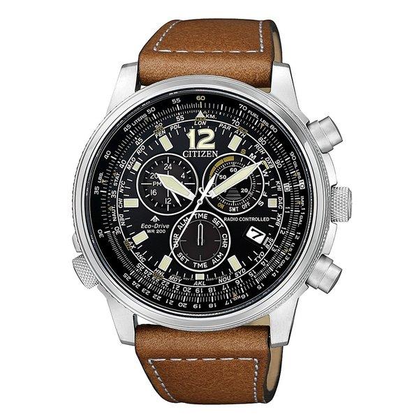 Citizen Citizen CB5860-27E Promaster Sky radiogestuurd Eco-Drive heren horloge 43,7 mm