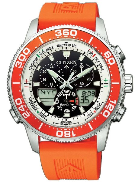 Citizen Citizen JR4061-18E Promaster Marine Eco-Drive heren horloge 44mm