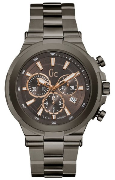 Gc Guess Collection Gc Guess Collection Y23004G4 Structura heren horloge 44 mm