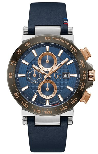 Gc Guess Collection Gc Guess Collection Y37010G7MF Urban Code heren horloge 45 mm