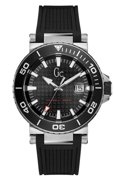 Gc Guess Collection Gc Guess Collection Y36002G2 Diver Code heren horloge 44 mm