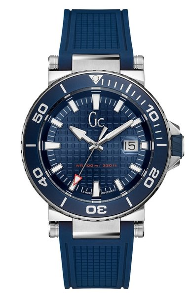 Gc Guess Collection Gc Guess Collection Y36003G7 Diver Code heren horloge 44 mm