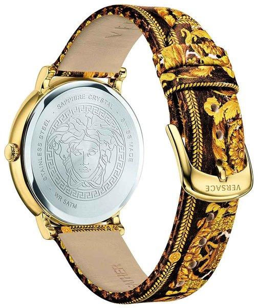 Versace Versace VBP130017 V-Circle dames horloge 38 mm
