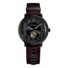Versace VBQ040017 V-Circle Manifesto heren horloge 42 mm