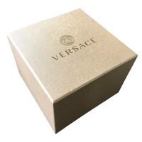 Versace Versace VBQ060017 V-Circle Silver heren horloge 42 mm