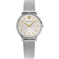 Versace Versace VE8100519 V-Circle dames horloge 38 mm