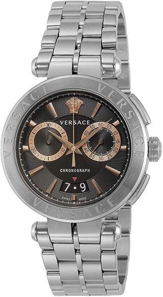 Versace Versace VE1D01019 Aion heren horloge chronograaf 45 mm