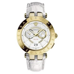 Versace VEBV00319 V-Race heren horloge chronograaf 46 mm