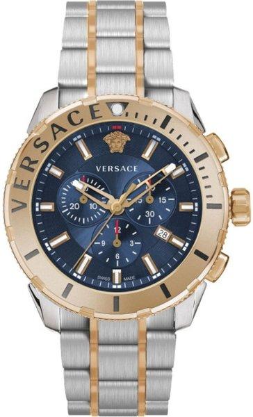 Versace Versace VERG00618 Casual Chrono heren horloge chronograaf 48 mm