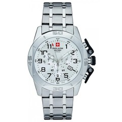 Swiss Alpine Military 7063.9133 heren horloge 45 mm