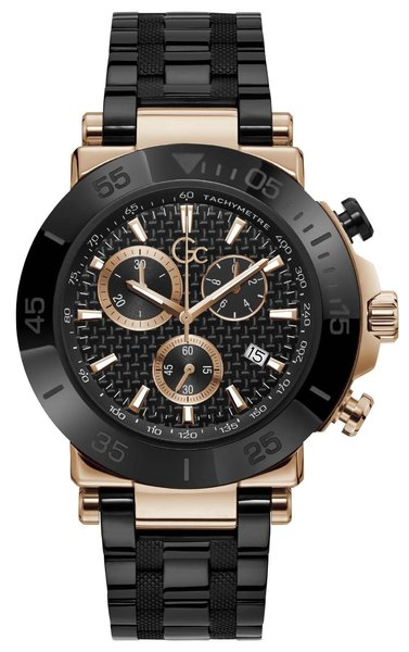 Gc Guess Collection Gc Guess Collection Y70002G2MF Gc One heren horloge 44 mm