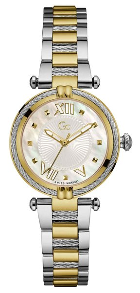 Gc Guess Collection Gc Guess Collection Y18020L1MF Cable Chic dames horloge 32 mm
