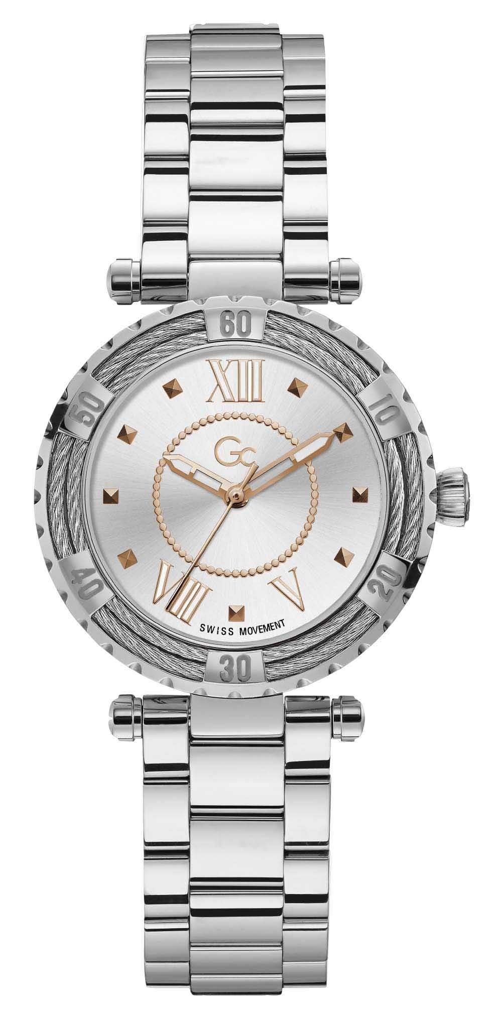 Gc Guess Collection Y41001L1MF Lady Diver Cabel dames horloge 34 mm
