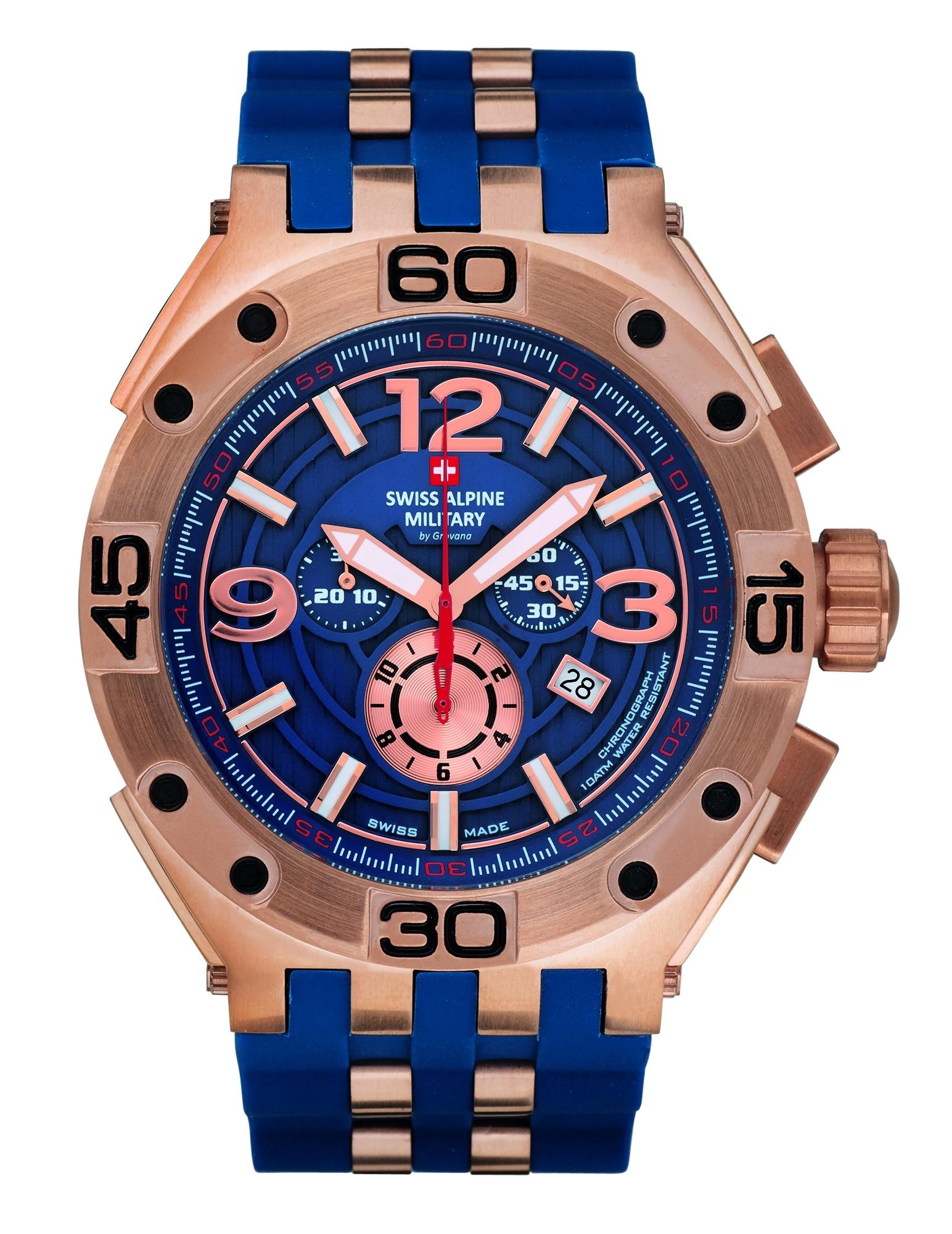 Dit zijn echt grote TW Steel horloges Swiss Alpine Military 7032.9865
