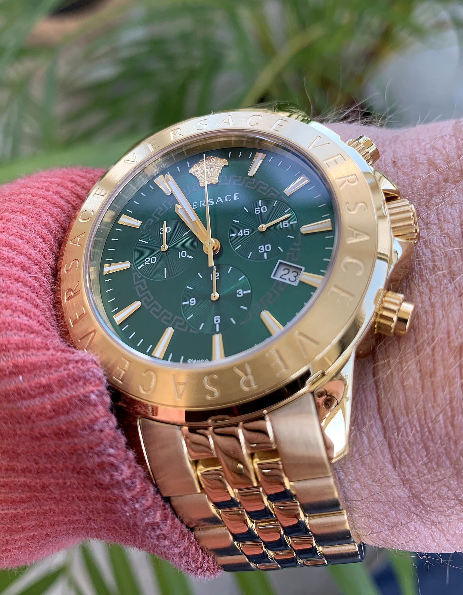 Horloge voor heren Versace VEV600619