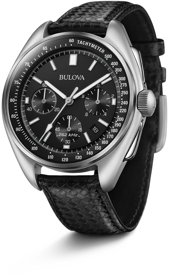 Bulova Lunar Pilot Moon Watch horloge foto 1
