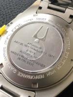 Bulova Moon Watch Lunar Pilot inscriptie Apollo 15