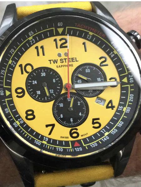 TW Steel SVS302Y uniek horloge