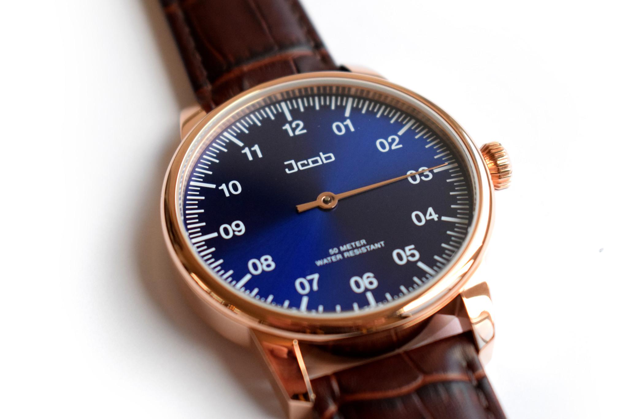Jcob Einzeiger horloge
