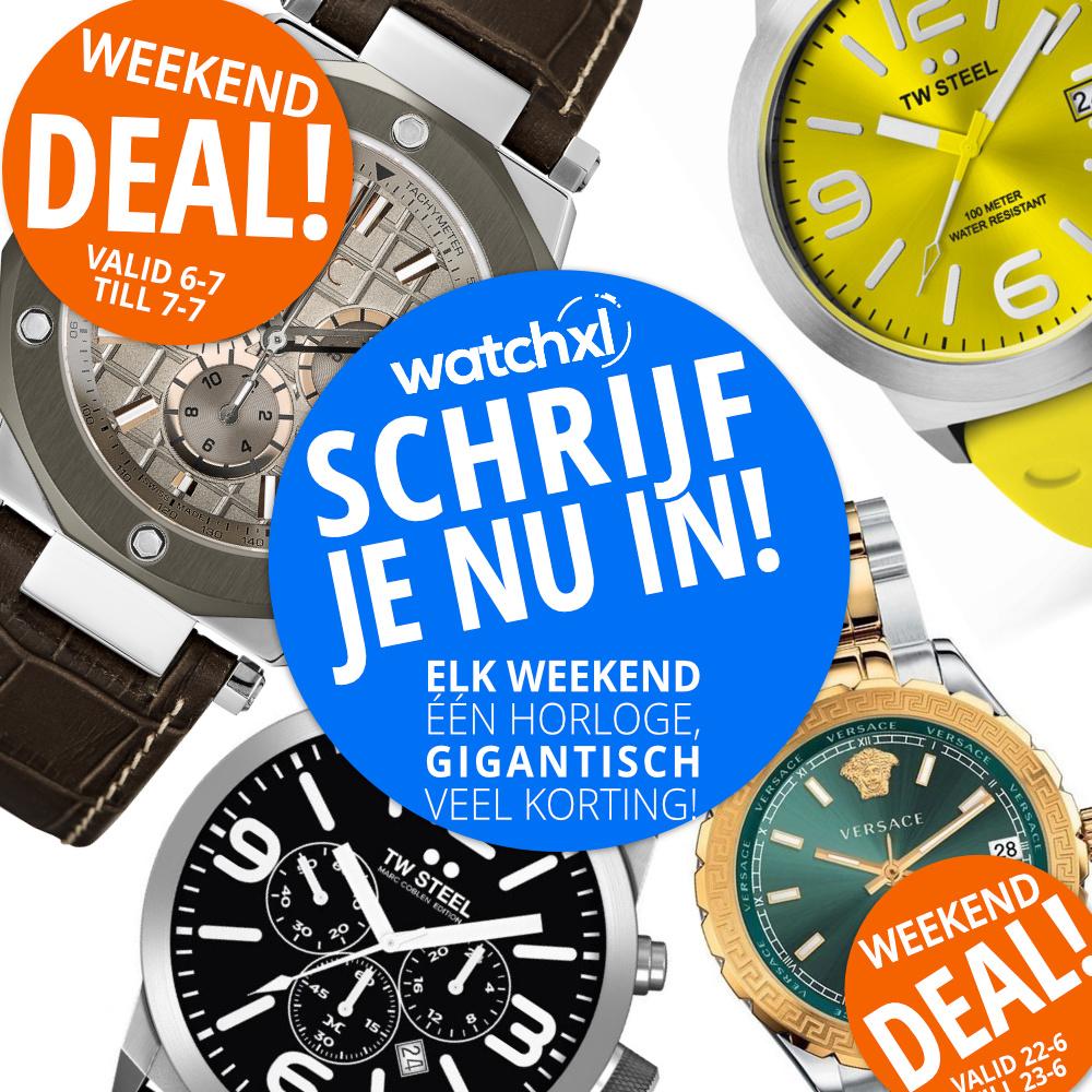 Horloge Weekenddeal
