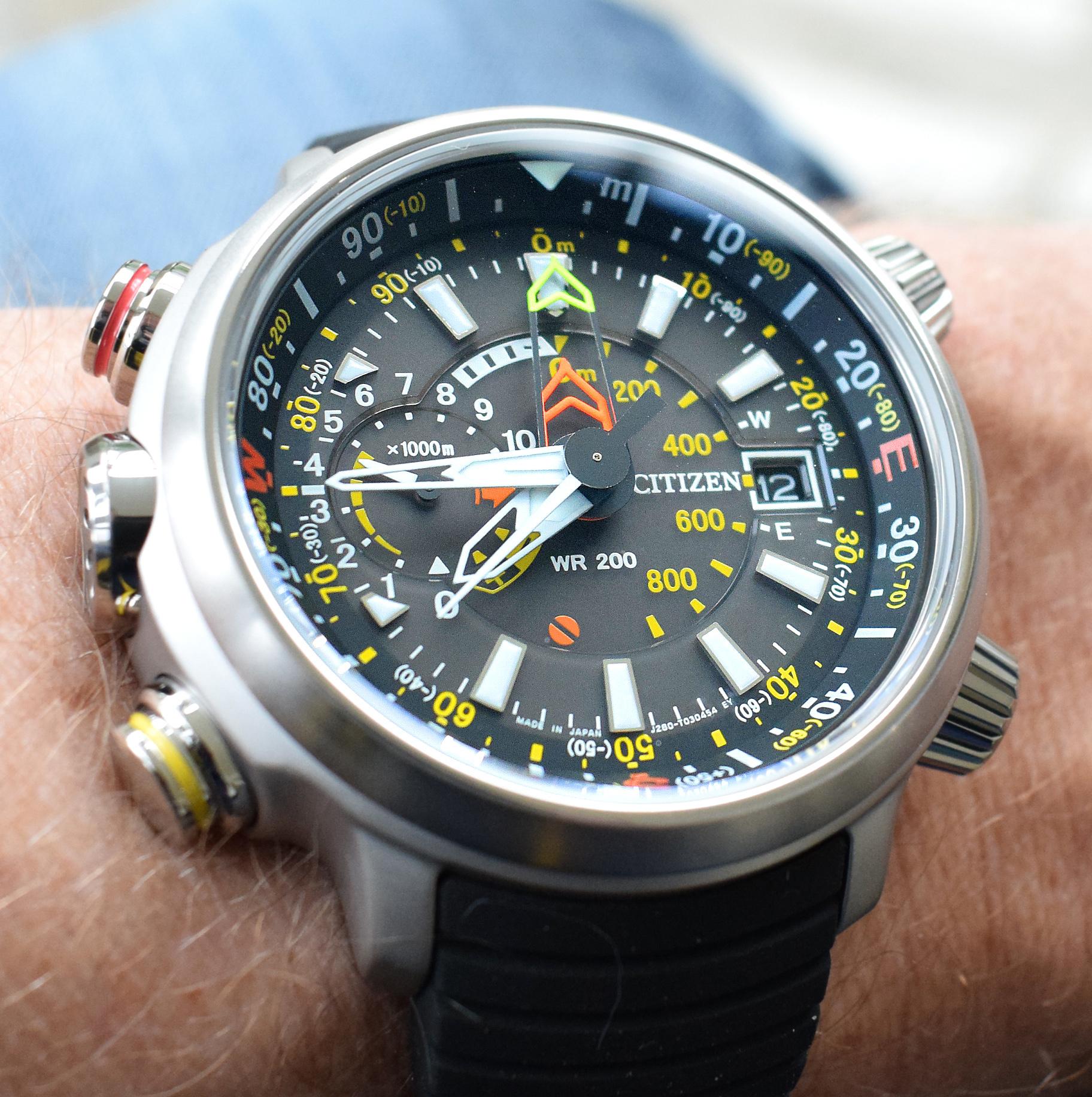 Citizen Super Titanium dit zijn de voordelen BN4021-02E heren horloge