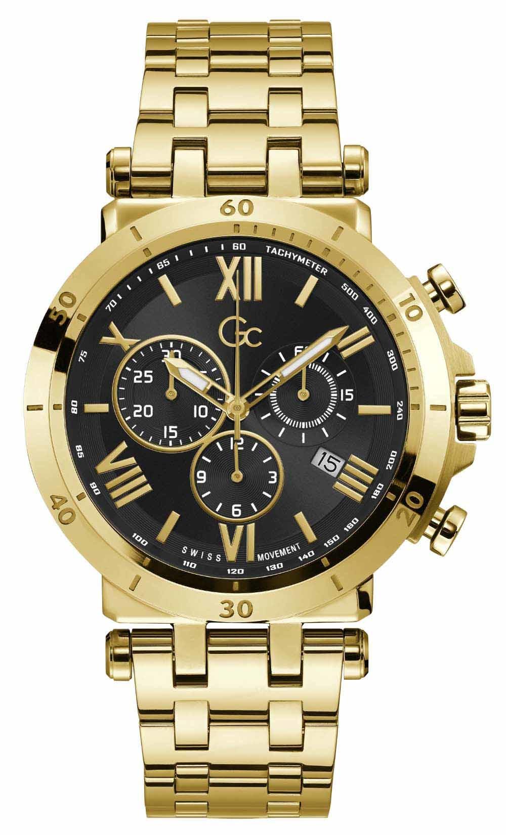 Horloge met saffierglas Gc Y44006G2MF