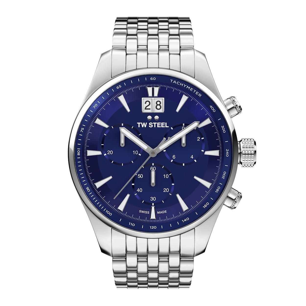 Horloge met saffierglas: TW Steel ACE313