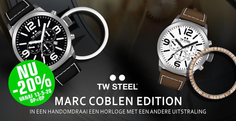 TW Steel Marc Coblen nu 20% korting
