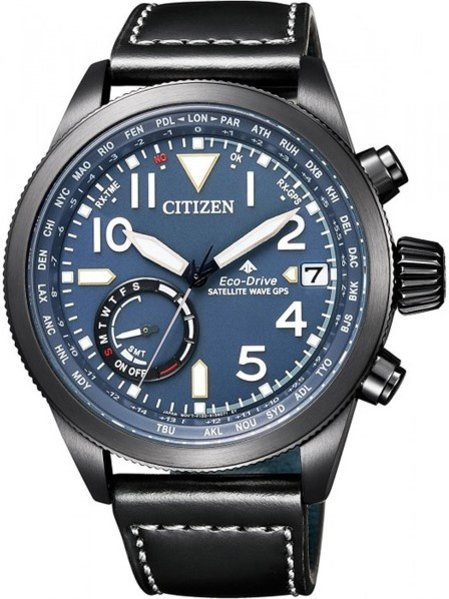 Citizen Citizen CC3067-11L Promaster Sky satellietgestuurd Eco-Drive heren horloge 44 mm