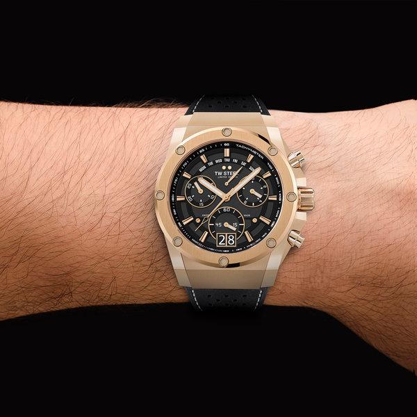TW Steel TW Steel ACE123 Genesis chronograaf herenhorloge 44mm