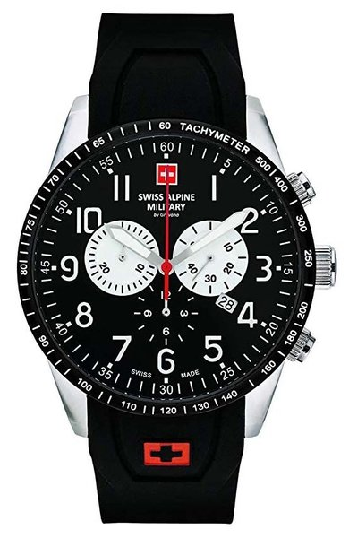 Swiss Alpine Military Swiss Alpine Military 7082.9837 heren horloge 45 mm - DEMO