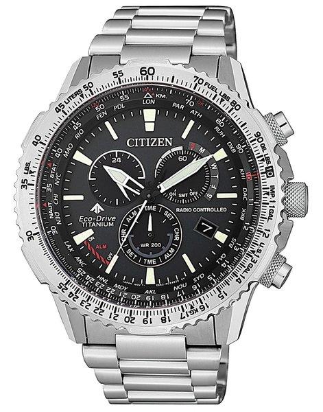 Citizen Citizen CB5010-81E Promaster Sky radiogestuurd Eco-Drive heren horloge 47 mm