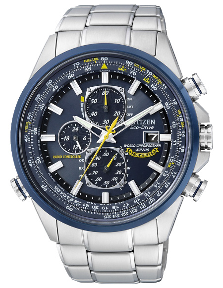 Citizen AT8020-54L Promaster US Navy Blue Angels horloge