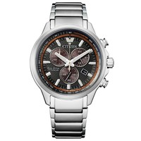Citizen Citizen AT2470-85H Eco-Drive Super Titanium chronograaf horloge 43 mm